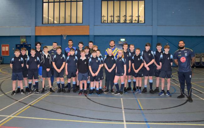 Birchwood High has received £2,400 to create four new school rugby teams