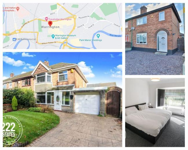 Warrington's most viewed homes for sale (Photo: Zoopla)