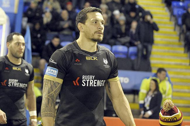 Sonny Bill Williams is currently contracted to Toronto Wolfpack for next year. Picture by Mike Boden