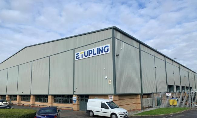 E. Tupling supports Warrington Wolves Charitable Foundation after Winwick Quay move