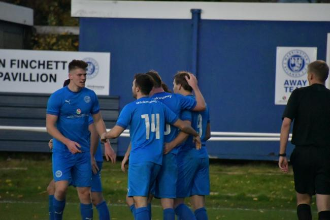 Warrington Rylands beat Padiham in the last round of the FA Vase. Picture by Mark Percy