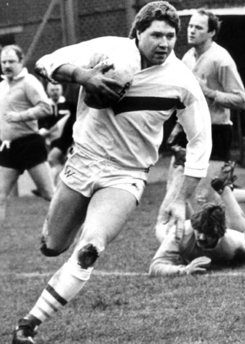 Warrington Guardian: Bob Eccles in his Warrington Wolves playing days