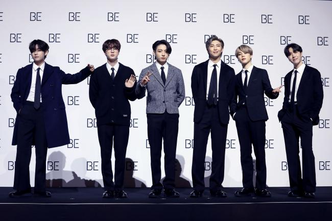 K-pop superstars BTS hope new album will bring joy amid a difficult year
