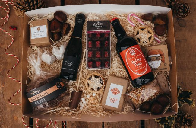 A Kenyon Hall Farm hamper