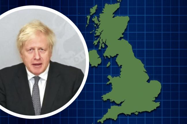Boris Johnson reveals England's new coronavirus tier rules from December 2. Picture: Newsquest
