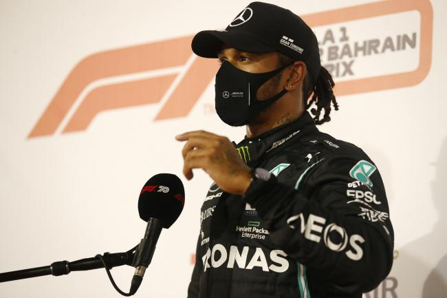 Lewis Hamilton will miss this weekend's Sakhir Grand Prix after testing positive for coronavirus