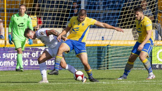 Evan Gumbs has not played since the pre-season friendly against AFC Fylde. Picture by John Hopkins
