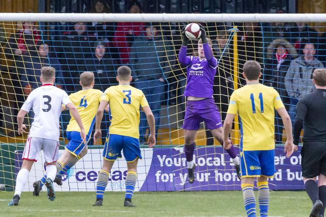 Bobby Jones spent time on loan with Warrington Town last season. Picture by John Hopkins
