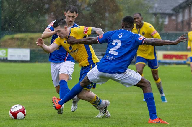 Warrington Town are due to face neighbours Witton Albion on Boxing Day. Picture by John Hopkins
