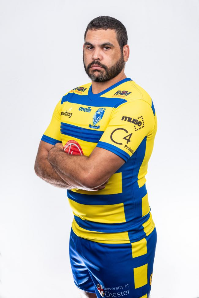 Greg Inglis in his new colours for 2021