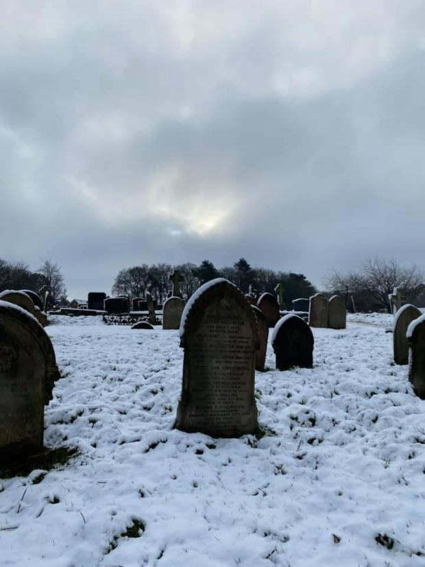 Warrington Guardian: Frances Nesarajah - Hill Cliffe Cemetery