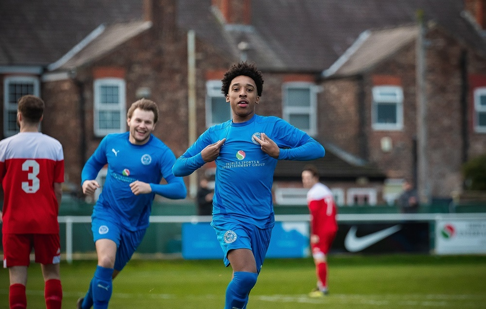 Kane Drummond was Blues top goalscorer so far this season having struck nine times. Picture by Mark Percy