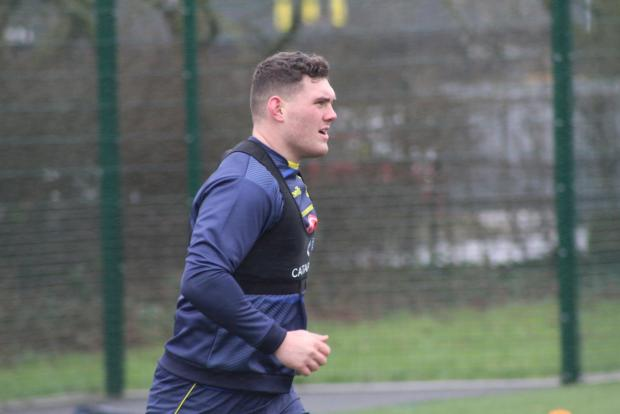 Warrington Guardian: New signing Robbie Mulhern