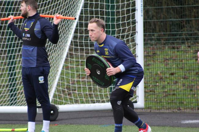 The Warrington Wolves squad regrouped for pre-season training this week as their preparations for the 2021 Super League season get underway in earnest