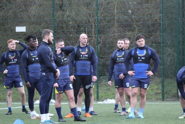 The Warrington Wolves squad have regathered for pre-season training