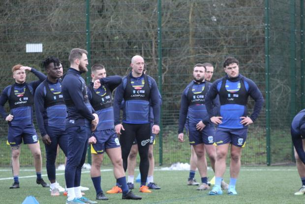 Warrington Guardian: Pre-season training