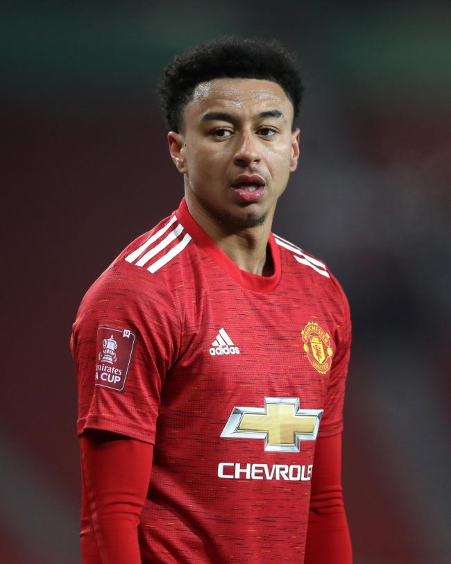 Longford-born Jesse Lingard has left Manchester United on loan. Picture by PA Wire