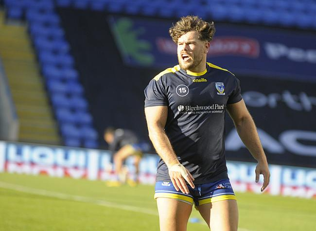 Joe Philbin will wear the number 13 shirt for Warrington Wolves this year. Picture by Mike Boden