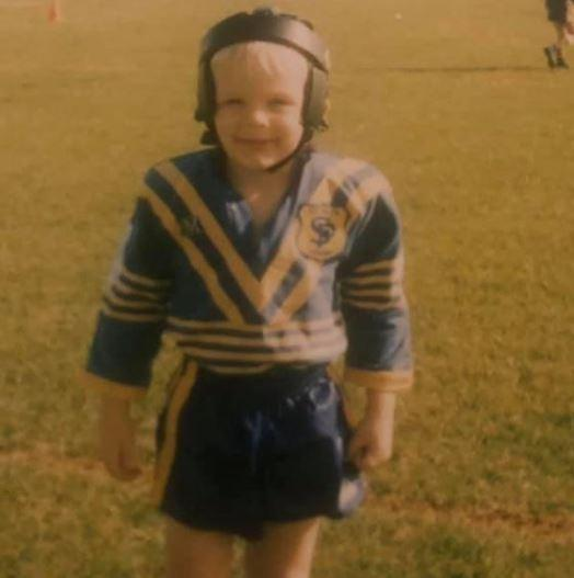Guess which Warrington Wolves star this is in their younger days
