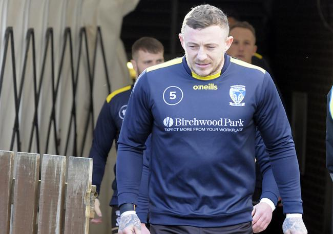 Josh Charnley is expected to be fit to face Castleford Tigers in The Wire's first Super League game of 2021. Picture by Mike Boden