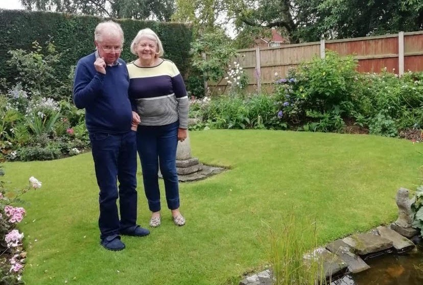 Joan and David Astbury lost their pension