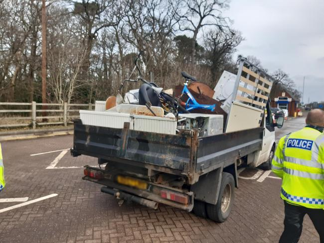 More than 20 suspects under investigation after police crackdown on fly-tipping