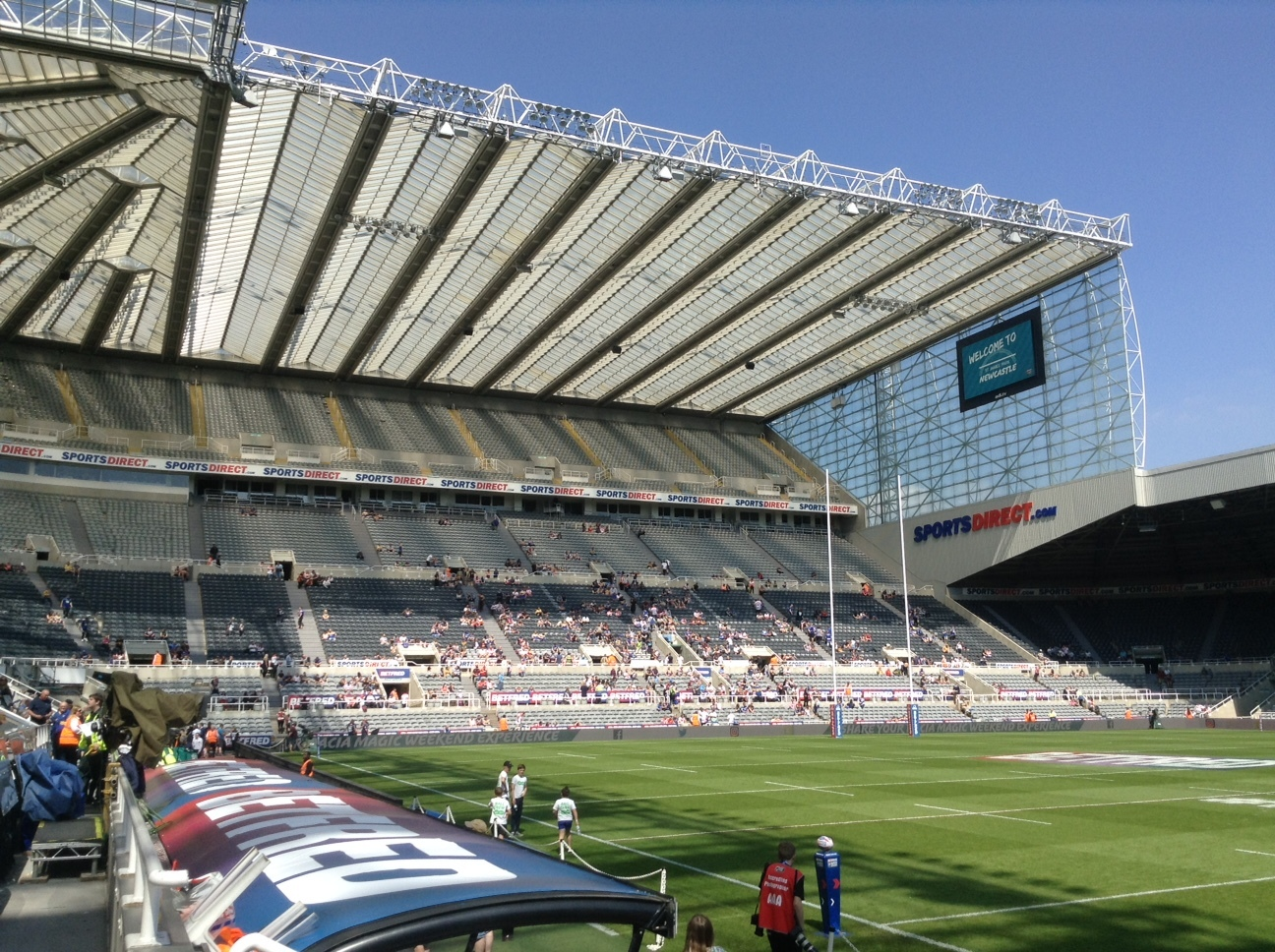 Newcastles St James Park will host Magic Weekend for the fifth time