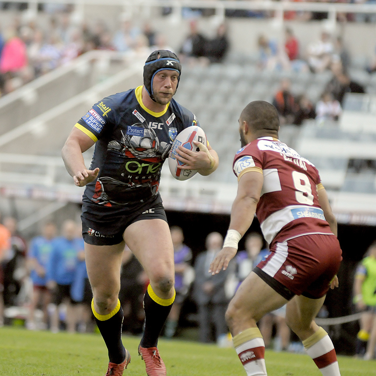 The Wire lost 38-10 to Wigan when Magic Weekend last visited Newcastle in 2018. Picture by Mike Boden