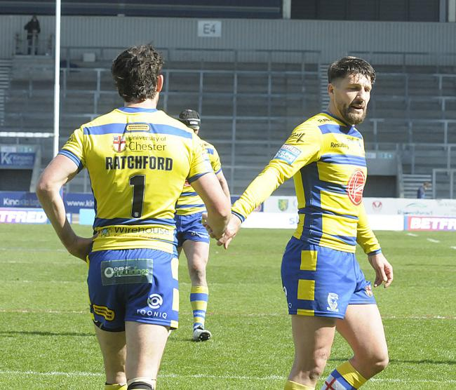 Gareth Widdop's return to the squad will likely mean Stefan Ratchford moves back to full-back against Hull FC. Picture by Mike Boden