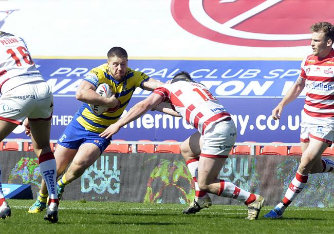 Tom Lineham scored twice in the win over Leigh. Picture by Mike Boden
