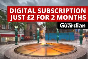 Don't miss out on Warrington Guardian's £2 for 2 months digital subscription offer