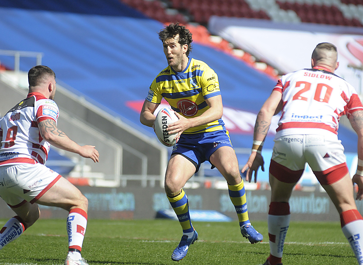 Stefan Ratchford looks set to partner Blake Austin in the halves. Picture by Mike Boden
