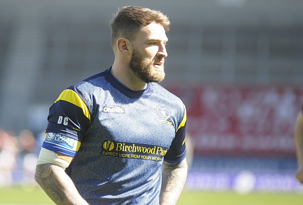 Daryl Clark could start on the bench. Picture by Mike Boden