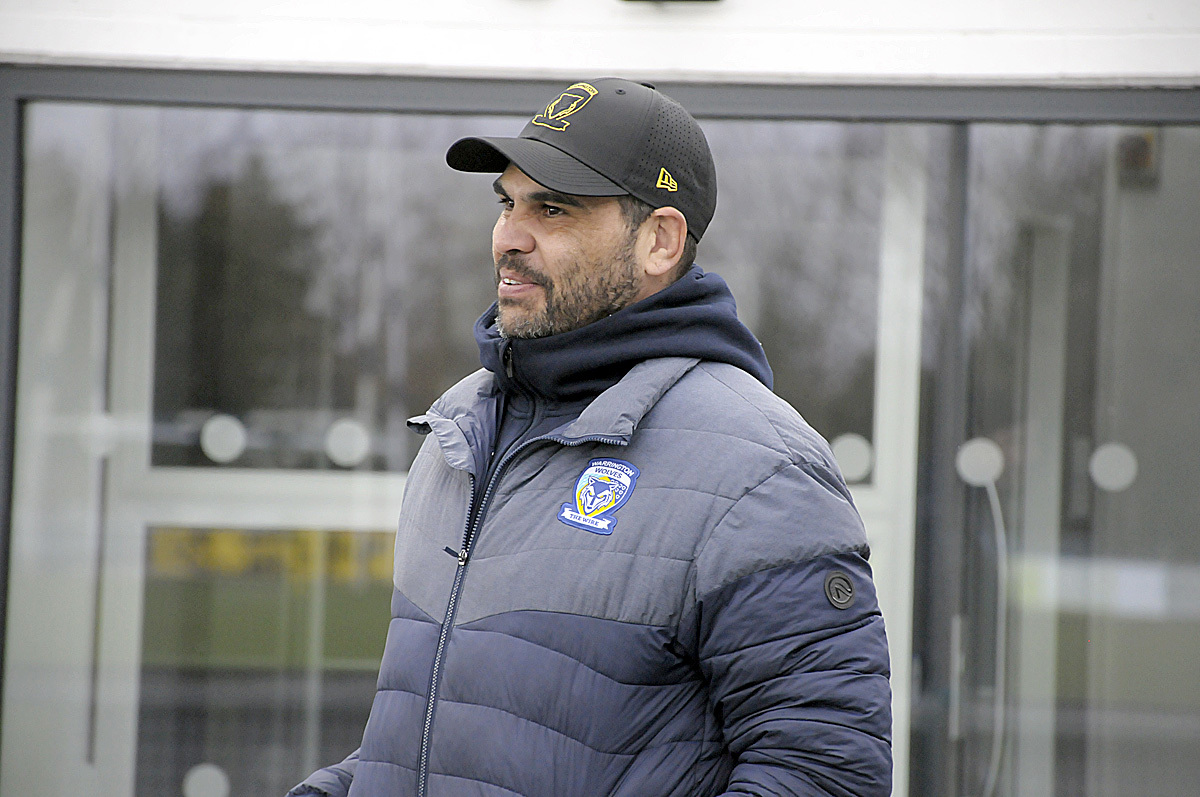 Greg Inglis at Swinton. Picture by Mike Boden
