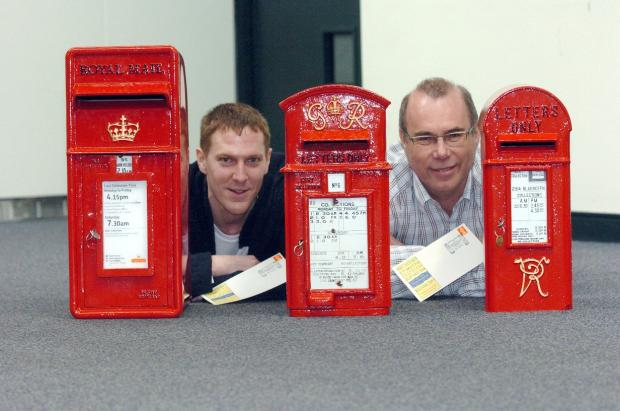 A red letter box day for the study group