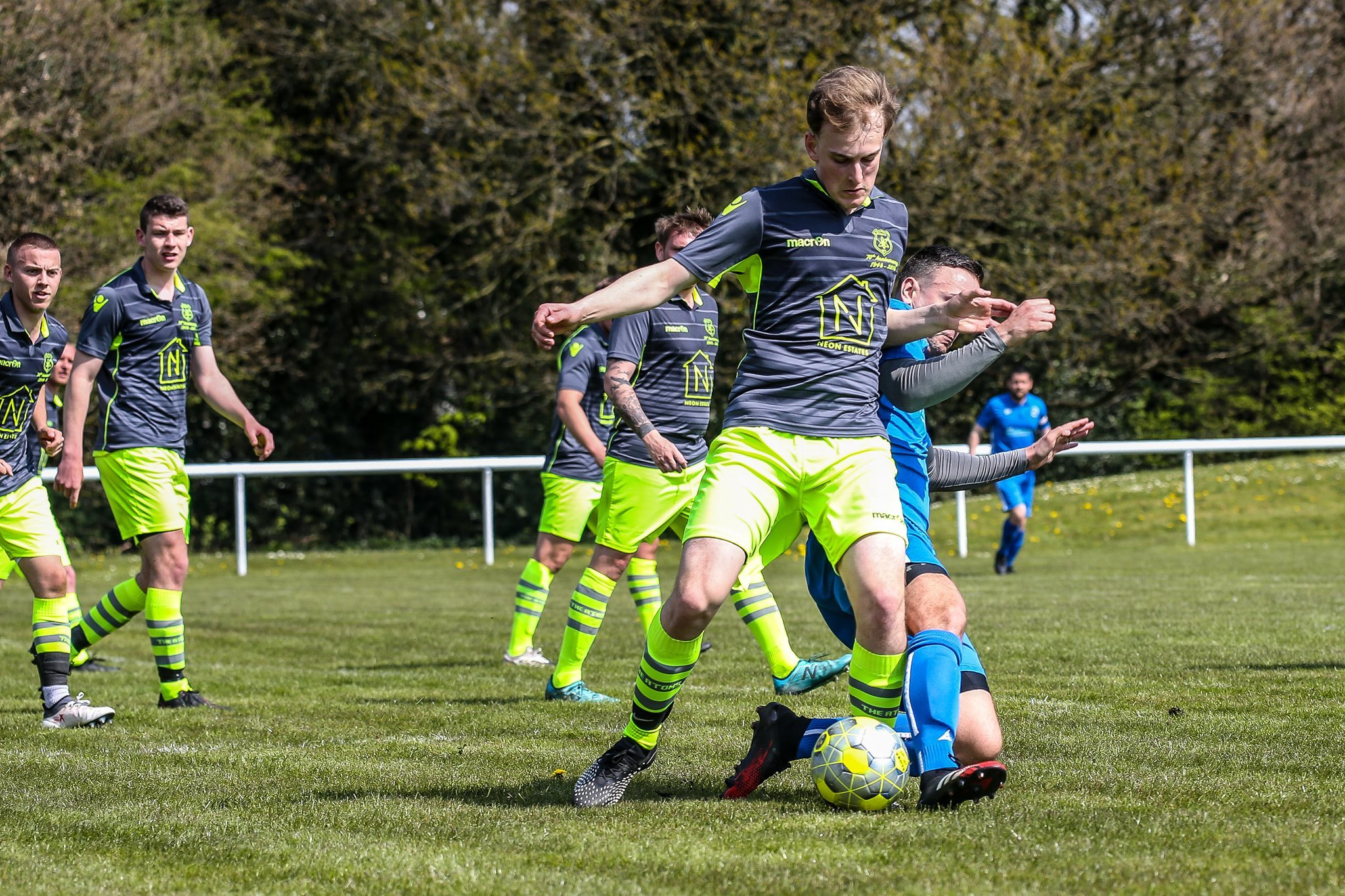 Daten were beaten 3-1 at Lostock Gralam on Saturday. Picture by Karl Brooks Photography