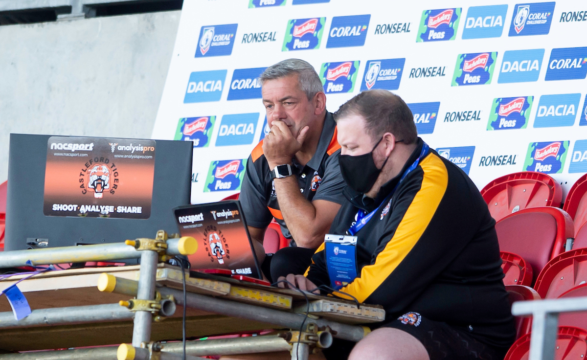 Analyst Ste Mills will be joining Daryl Powell at Warrington Wolves next year. Picture by SWPix.com