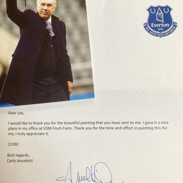 Warrington Guardian: Carlo's thank you letter