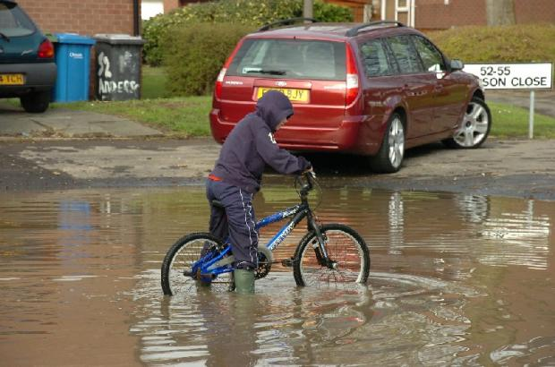 Thousands of homes at risk of flooding in Warrington