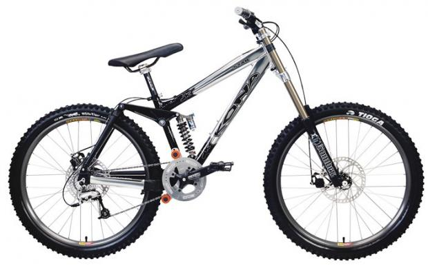 Warrington Guardian: STOLEN: A limited edition Kona Downhill Dual Suspension bike