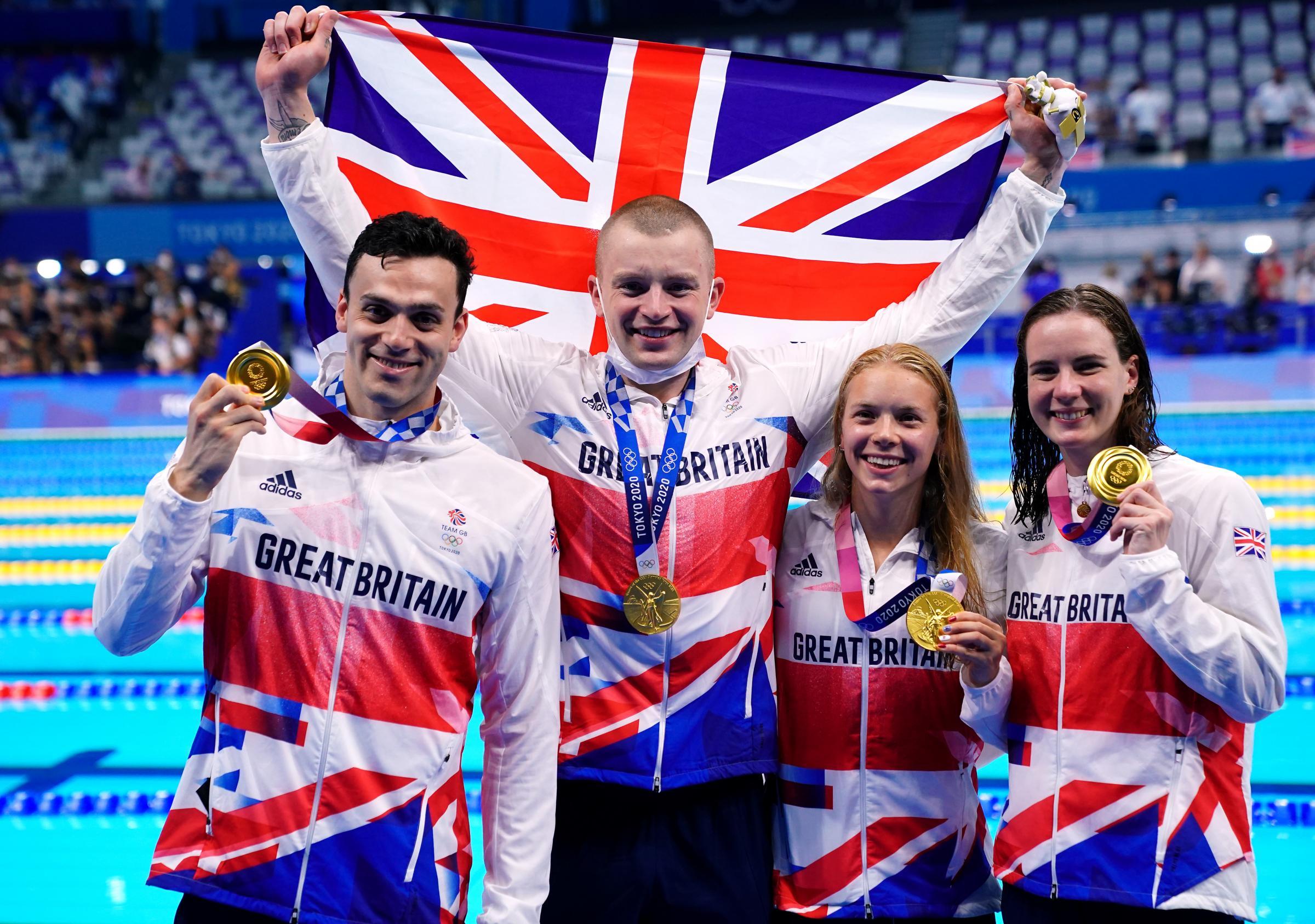 Peaty, Guy, Dawson and Hopkin Team GB gold at Tokyo Olympics