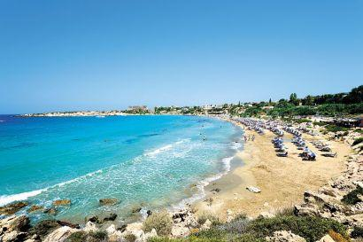 Popoular destinations include Cyprus