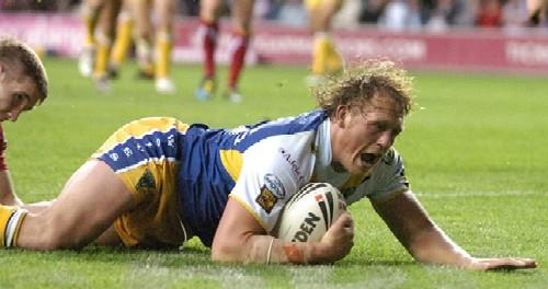 Warrington Guardian: Ben Westwood scored the winning try in the second half