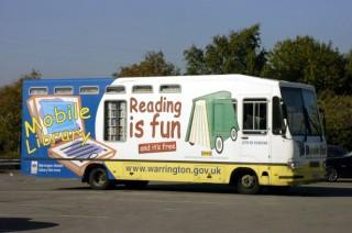 The mobile library service could end under cutbacks being considered by Warrington Borough Council