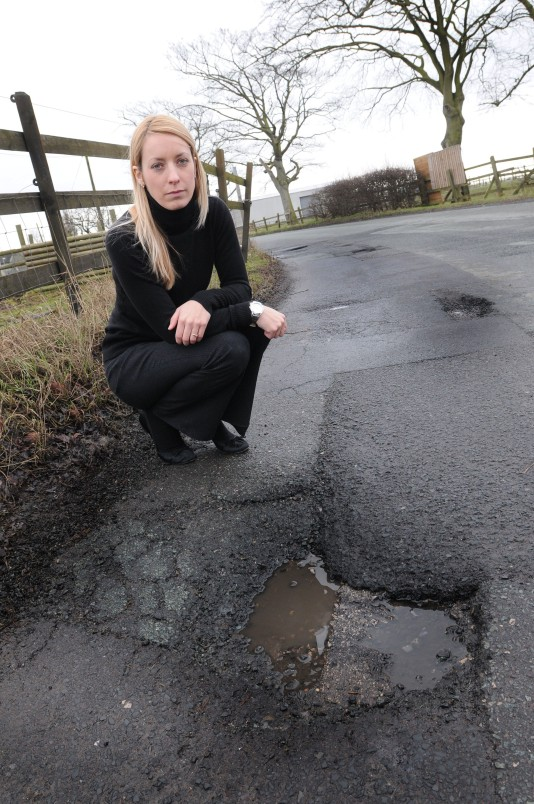Warrington given £400k to repair 7,000 pot holes