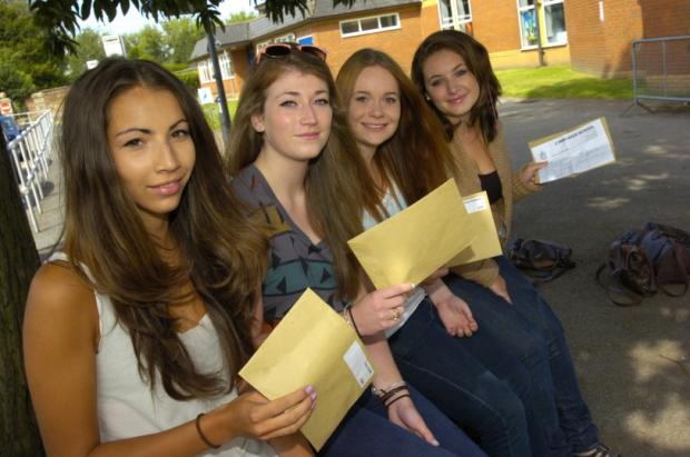 Students ready for A-level results