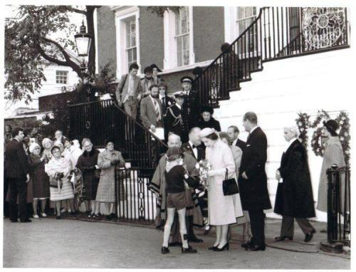 The Queen's visit in 1968