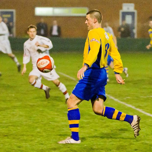 Andy Heald scored on his return to the club. Picture by John Hopkins