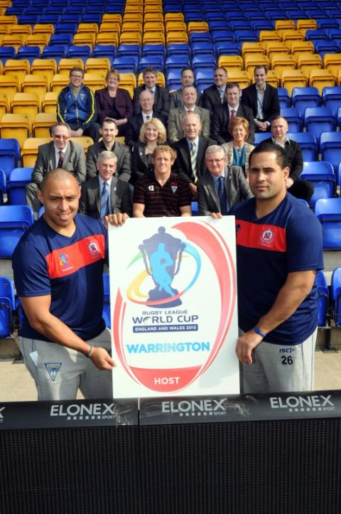 Samoa will be the team based in Warrington