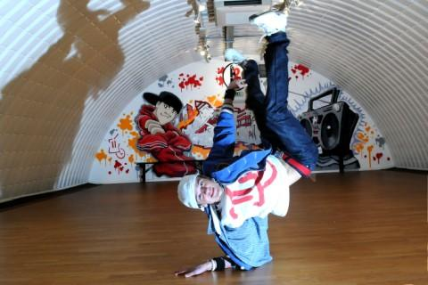 George Sampson opens his own dance centre in town